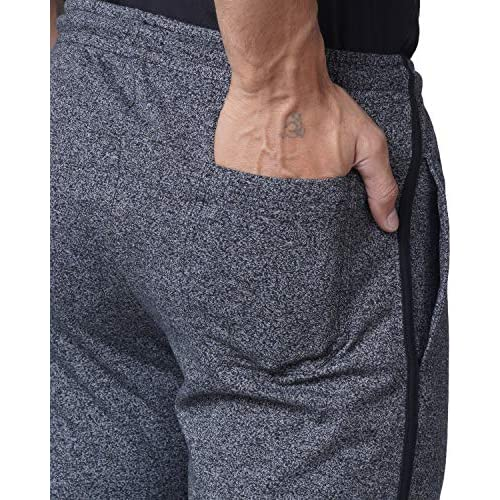 510VNmXCpPL. SS500  - WAKE UP COMPETITION Solid Men's Cotton Blend Track Pant