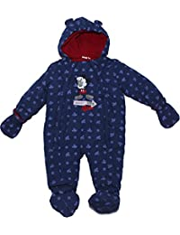 Disney Mickey Mouse Lets Go Boys Full Winter Baby Jacket Body Suit New 2017-2018