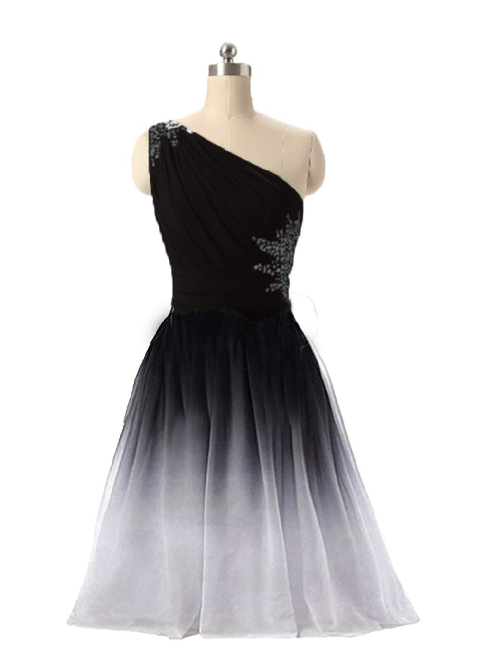 Fwvr Ombre Short Prom Dresses For Juniors Beaded Gradient Homecoming Party Dress 2020,Buy Wedding Dresses Online India