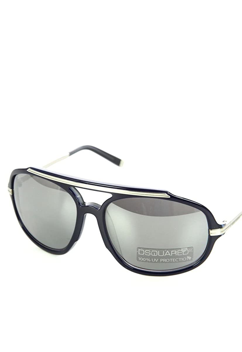Amazon.com: Dsquared2 DQ 0089 92 C Aviator anteojos de sol ...
