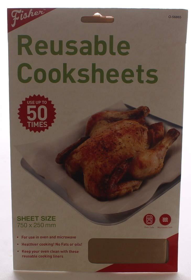 Hoja antiadherente bandeja de horno Protector reutilizable para hornear Cooksheet: Amazon.es: Hogar