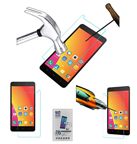 Acm Tempered Glass Screenguard Compatible with Lenovo A7700 Screen Guard Scratch Protector