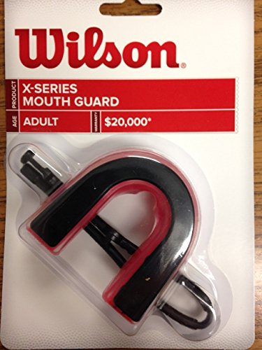 Wilson X-Series Mouth Guard Adult 6-Pack by Shield Mouth Guards