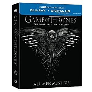 Cover Image for 'Game of Thrones: Season 4 (Blu-ray/DVD Combo + Digital Copy)'