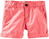 OshKosh B'gosh Woven Shorts (Toddler/Kid) - Coral-6