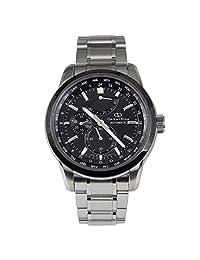 "ORIENT STAR ""World Time"" Automatic SAR Sapphire Power Reserve Watch Black JC00001B WZ0011JC"
