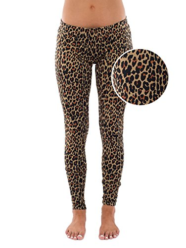 Tipsy Elves Leopard Leggings: X-Large