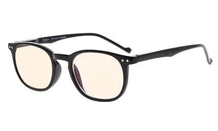 Eyekepper Vintage Computer occhiali da lettura Lettori-Anti-riflettente,Anti-abbagliamento,Lente trasparente,Uv Protezione Uomo Donna +1.25