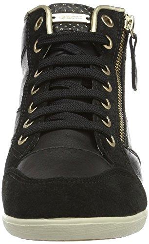 Geox D Myria a, Zapatillas para Mujer Negro (blackc9999)