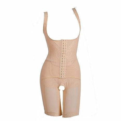 cb0766ab0c MZjJPN Summer Magnetic Corset Shapewear Underwear Waist Corsets Bodysuit  Women Girdles Body Shaper beige M