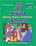 Five-Minute Sunday School Activities for Preschoolers, Mary J. Davis, 1584110465