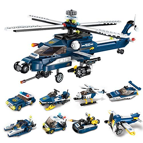 XuBa E Model Compatible with Lego E1801 381pcs 8 in 1 Models Building Kits Blocks Toys Hobby Hobbies for Boys Girls from XuBa