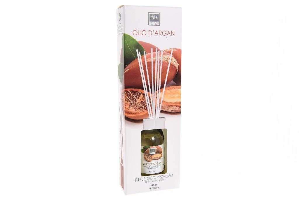 GIRM®® - ME16439 Diffusore d'Essenza con Bastoncini in Cotone Aroma Olio d'argan ml 125