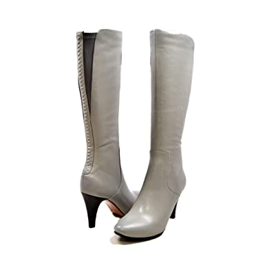 f02178eab5 Amazon.com | SoleMani Women's Slim Calf Paradise Leather Boot | Boots