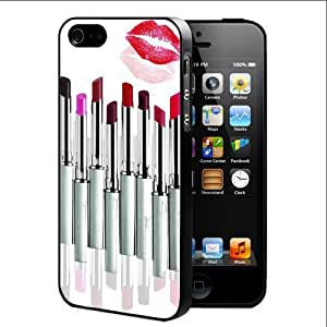Girly Lipstick Set Hard Snap On cell Phone Case Cover iPhone 4 4s