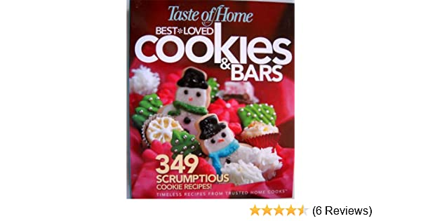 Taste Of Home Best Loved Cookies And Bars Reader S Digest