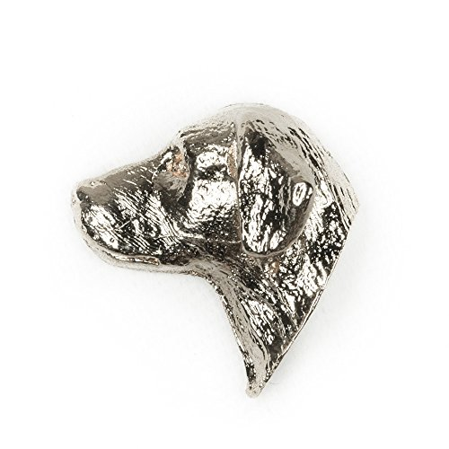 - LABRADOR HEAD Made in U.K Artistic Style Dog Clutch Lapel Pin Collection