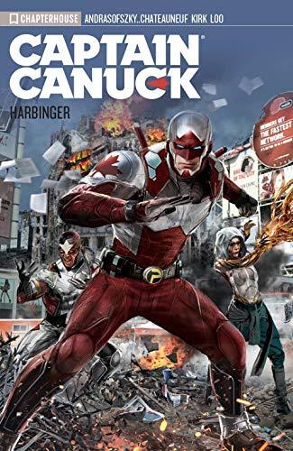 Captain Canuck Vol 03: Harbinger Kalman Andrasofszky