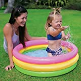 Soft Inflatable Baby Pool Bath Water Tub for Kids (3 Feet)