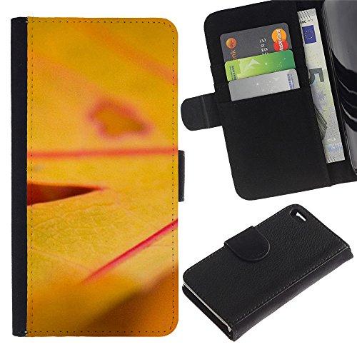 LeCase - Apple Iphone 4 / 4S - Plant Nature Forrest Flower 17 - Cuir PU Portefeuille Coverture Shell Armure Coque Coq Cas Etui Housse Case Cover Wallet Credit Card