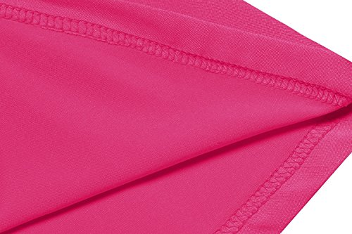 V Ruched Style1 Beyove Dress Women's pink Neck Sleeveless Swing Waist Slimming Crossover SZw76qnxpw