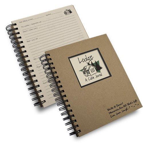 Lodge, a Cabin Journal- Kraft Hardcover Journal, 7.5