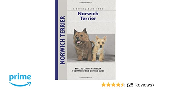 Norwich Terrier (Comprehensive Owner's Guide): Alice Kane, Alice Van
