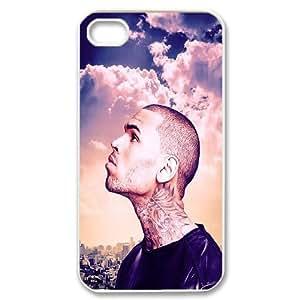 LSQDIY(R) Chris Brown iPhone 4,4G,4S Customized Case, Unique iPhone 4,4G,4S Durable Case Chris Brown