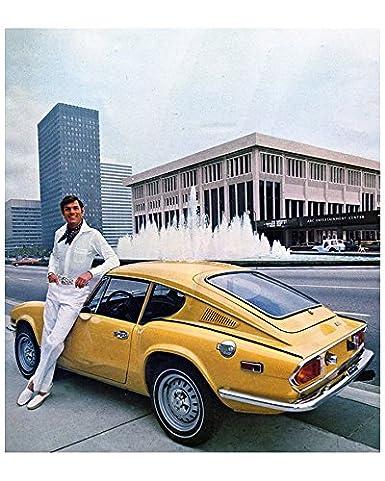 Amazoncom 1972 Triumph Gt6 Factory Photo Entertainment Collectibles