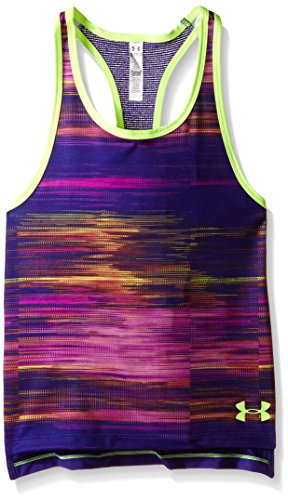 Under Armour Mädchen Fitness - T-shirts & Tanks, Fitness Luna Tank, Gr. YMD, Lila (Purple Sky)