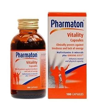 2 Pack – Pharmaton – Pharmaton Vitality 100 s 2 PACK BUNDLE