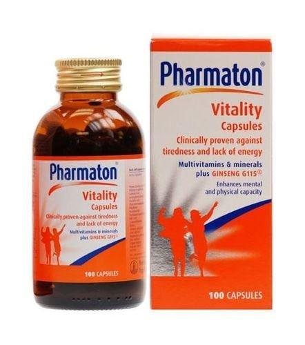 (2 Pack) - Pharmaton - Pharmaton Vitality   100's   2 PACK BUNDLE