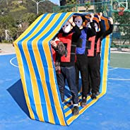 Indoor Outdoor Teamwork Carnival Games for Adults Kids Family Field Day Backyard Birthday Party Games - Fun Gr