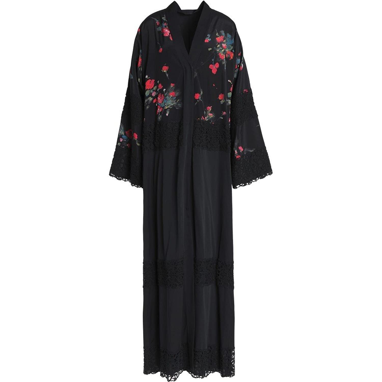 (ドルチェ&ガッバーナ) DOLCE & GABBANA レディース ワンピースドレス ワンピース silk and cotton-blend maxi dress [並行輸入品] B079HTKDGM