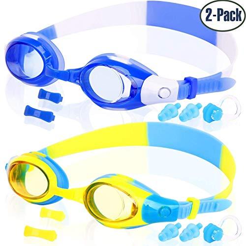 e2fb626ca0e1 COOLOO Kids Swim Goggles