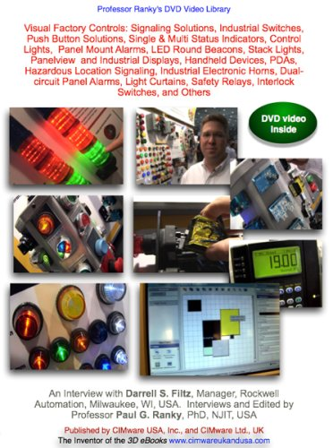 Indicator Visual - Visual Factory Controls: Signaling Solutions, Industrial Switches, Push Button Solutions, Single & Multi Status Indicators, Control Lights,  Panel Mount Alarms, LED Round Beacons, Stack Lights,  Panelview  and Industrial Displays, Handheld Devices, PDAs..