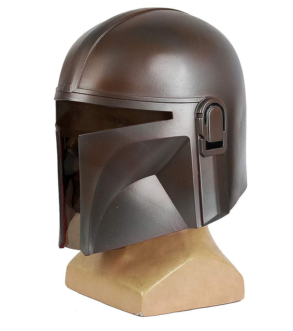 B Gankchen The Mandalorian Helmet The Mandalorian Mask Light Weight Soft PVC Cosplay Helmet,The Mandalorian Costume Helmet Mandalorian Replica Masqurade
