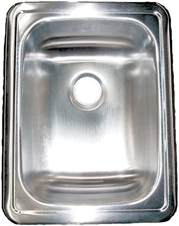 LaSalle Bristol 13RSM1713LL 17 x 13 x 5 Stainless Steel Single Sink