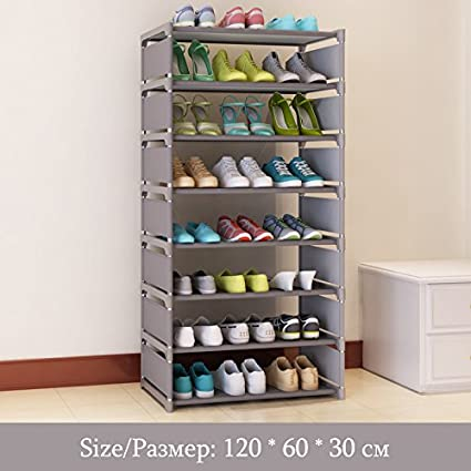 KingYuan 8 Layer Storage Shoe Cabinet Easy To Install Multi Layer Shoes  Racks DIY Shoe