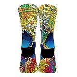 Men's Woman's Crew Dress Socks, Athletic Hiking
