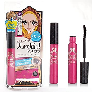 9ae2fa68530 Image Unavailable. Image not available for. Color: Isehan Japan Kiss Me  Heroine Make Long & Curl Mascara ...