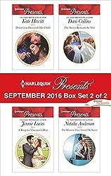 Harlequin Presents September 2016 - Box Set 2 of 2: Demetriou Demands His Child\A Ring for Vincenzo's Heir\The Secret Beneath the Veil\The Mistress That Tamed De Santis