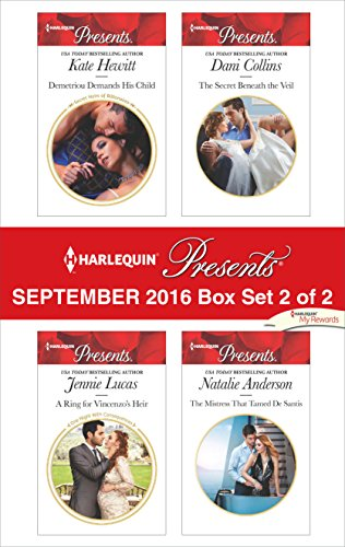 Harlequin Santa (Harlequin Presents September 2016 - Box Set 2 of 2: Demetriou Demands His Child\A Ring for Vincenzo's Heir\The Secret Beneath the Veil\The Mistress That Tamed De Santis)