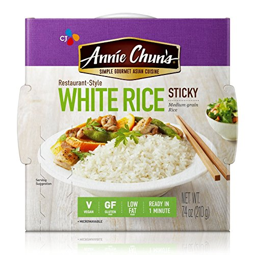 Annie Chun's Rice Express, White Sticky Rice, 7.4 Ounce (Pack of - 7.4 Bowls Ounce