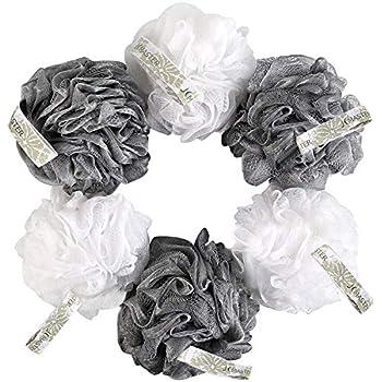 Amazon Com Jcmaster Loofah Shower Scrunchie For Men Women
