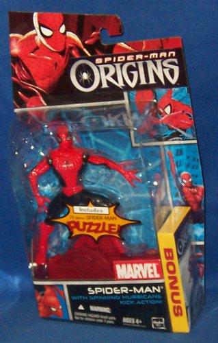 Spider-man Origins - Spider-man W/spinning Hurricane Kick Action W/bonus