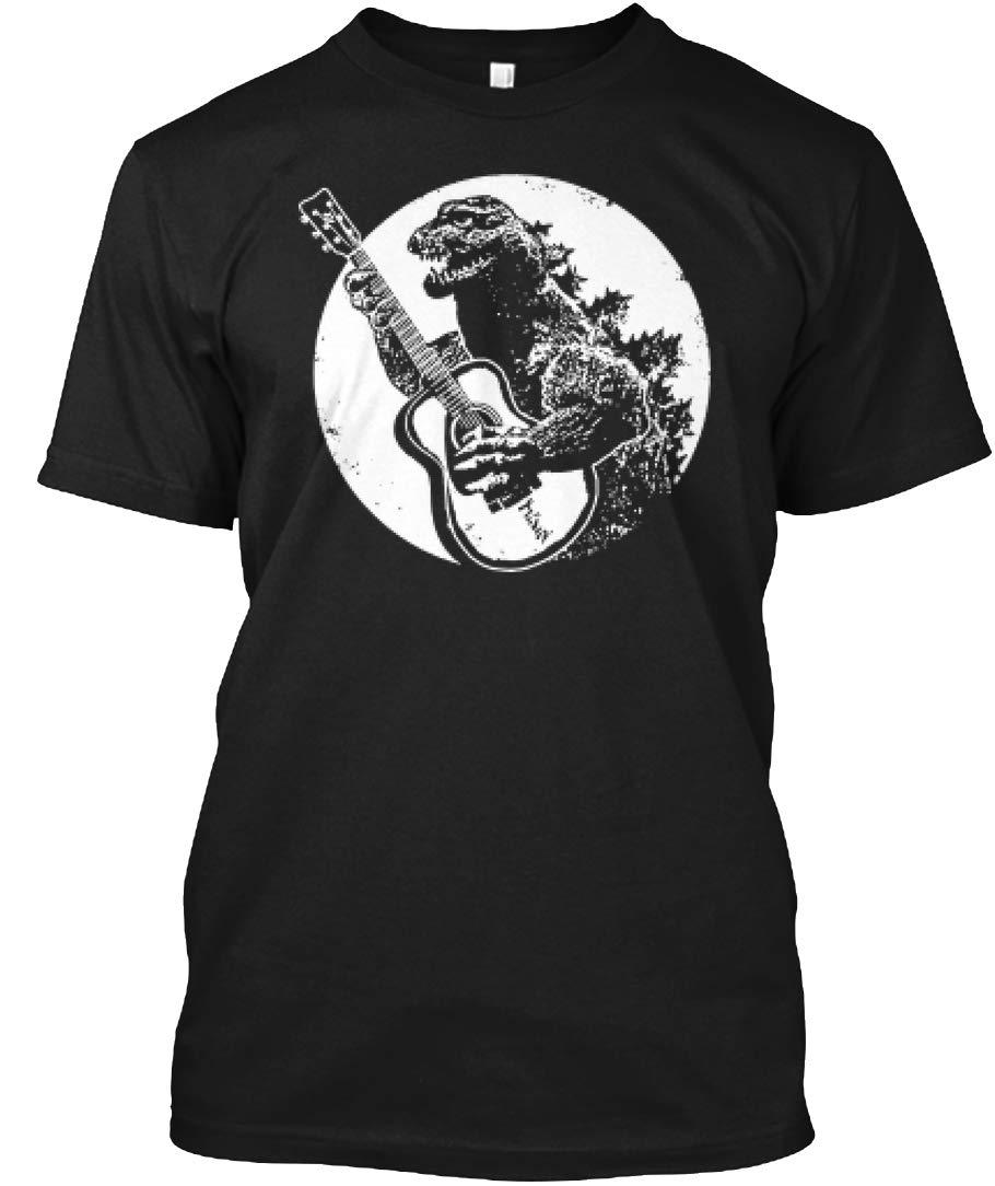 Godzilla Guitar Godzilla Playing T Shirt 1782