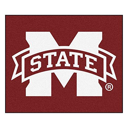 FANMATS NCAA Mississippi State University Bulldogs Nylon Face Tailgater Rug