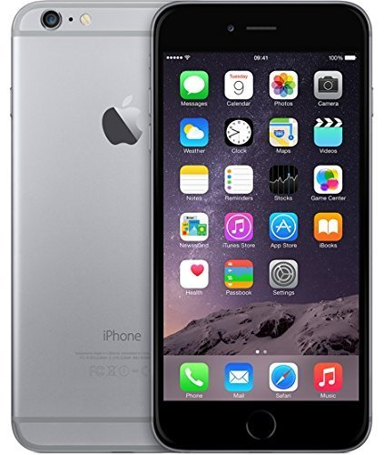 Apple iPhone 6 Plus 128GB Unlocked Smartphone - Space Gray (Renewed)