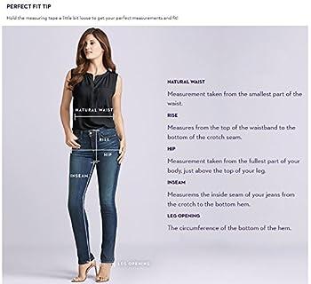 Nydj Women's Barbara Bootcut Jeans, Burbank Wash, 14 3